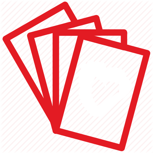 Cards number icon